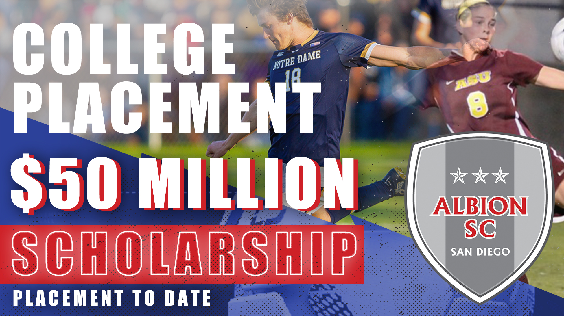 ALBION SC College Commitments Reach Record High