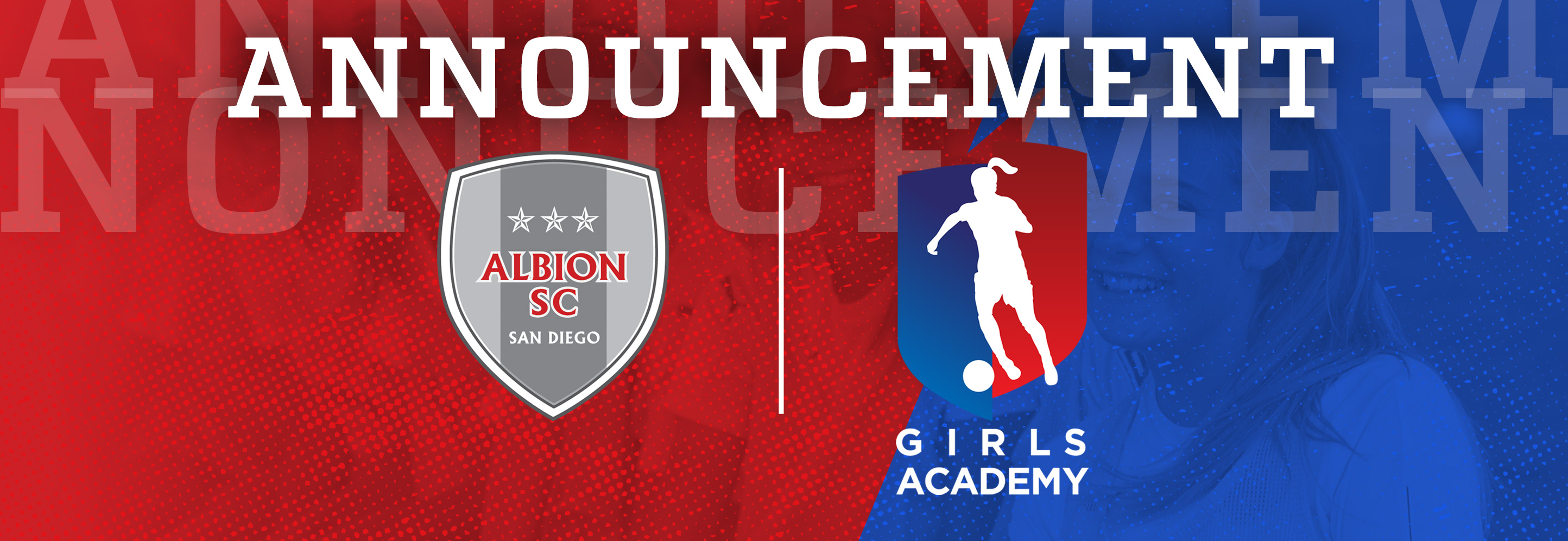 ALBION SC JOINS THE GIRLS ACADEMY (GA)