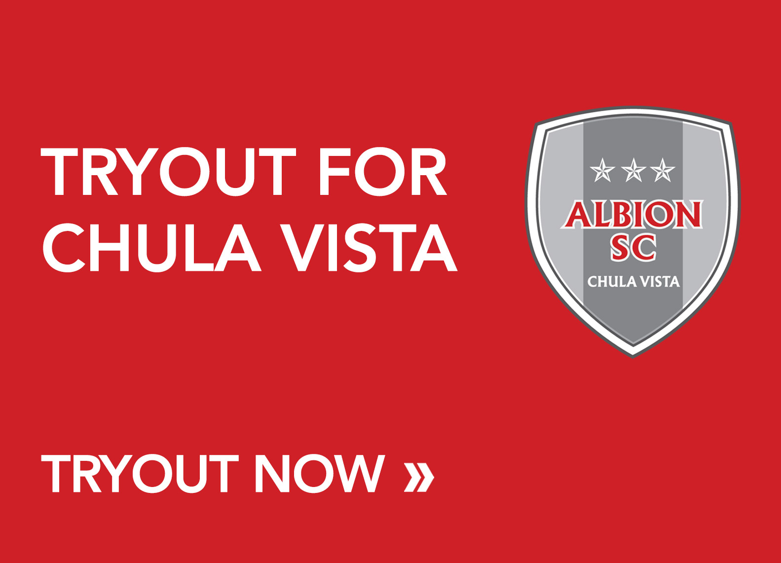 Tryout ALBION Chula Vista