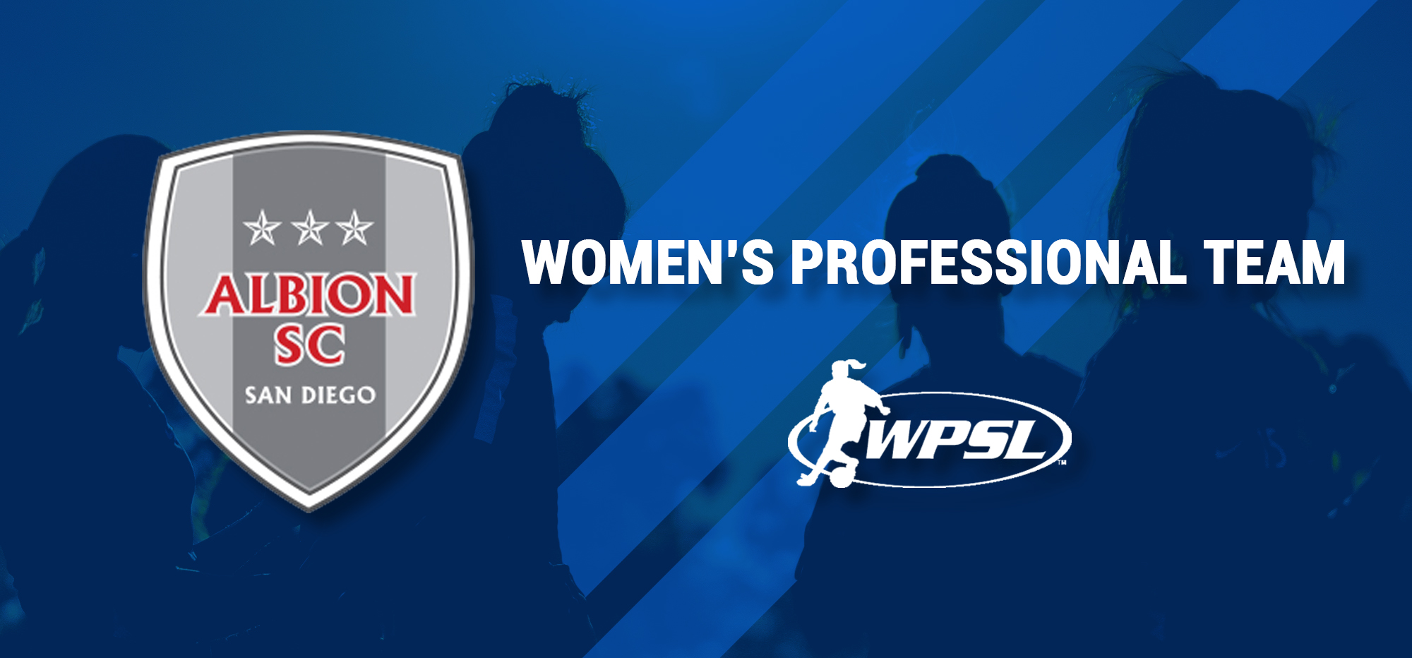 ALBION SC WILL NOW HAVE A WOMENS PROFESSIONAL TEAM TO SIT ATOP THE GIRLS US DEVELOPMENT ACADEMY